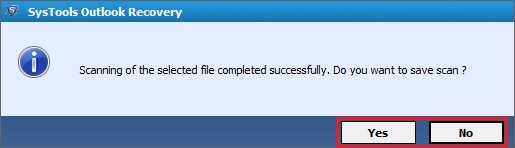 Save PST file